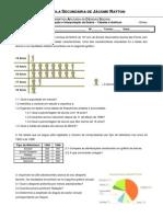 2. Ficha de Trabalho - Organização e Interpretação de Dados