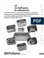 StudioLiveSoftware ReferenceManual ES