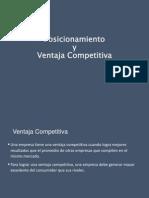 Posicionamiento y Ventaja Competitiva