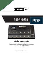 POD HD500 Advanced Guide v2.0 - Spanish ( Rev a )