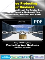James Lee's PCI Guide- 3Steps Protecting Your Business What Every Merchants Must Know