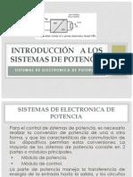 Los Sistemas de Potencia