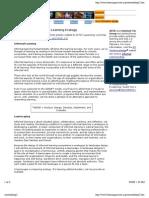 Designing a Web-Based Learning Ecology