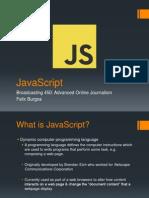 JavaScript Presentation