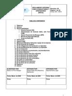 PGLtda DPR RIPCO Reglamento Interno Para Conductores y Operadores