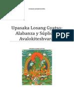 Upasaka Losang Gyatso Alabanza y Súplica a Avalokiteshvara.