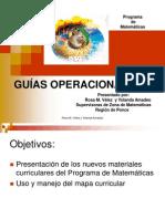 Guías Operacionales k 6to