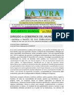 Carta Mundial La Pira La Yura La Gran Luz Mentalorganizacional