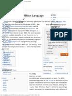 Web Services Description Language - Wikipedia, The Free Encyclopedia
