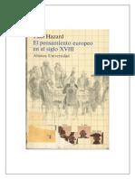 Hazard Paul - El Pensamiento Europeo en El Siglo Xviii