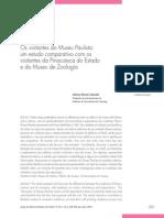 Adriana Mortara Almeida - Os Visitantes Do Museu Paulista Um Estudo Comparativo Com Os Visitantes Da Pinacoteca Do Estado de São Paulo e Com o Museu Da Zoologia