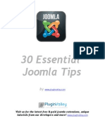 30 Joomla Essentials Free eBook