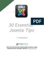 30 Joomla Essentials Free eBook
