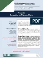 Tanzania: Corruption and Human Rights