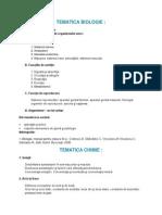 Bibliografie Si Tematica Medicina Cluj
