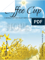 Valley Hope Coffee Cup - Summer 2014