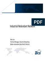 1.7 Industrial Redundant Networks - Marc Lee, Belden Automation