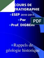 BIOSTRATIGRAPHIE ESEP 2011