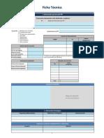 Ficha Tecnica Programas y Proyectos de Inversion