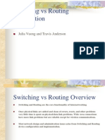 Switching Routing Overview