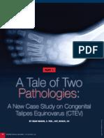 A Tale of Two Pathologies Ar
