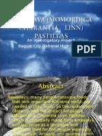 Ampalaya (Momordica Charantia Linn) Pastillas