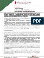 Communiqué de presse CNCE (31 janvier 2008)