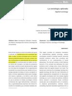 Dialnet LaSociologiaAplicada 2166192.Desbloqueado