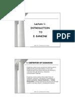 Lecture 1 - Slides