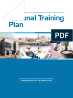 National Training Plan