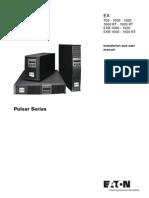 Eaton EX 700-1500 Manual Installation Operation