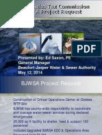 Beaufort-Jasper Water & Service Authority sales tax project list