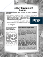 Point Buy Equipment