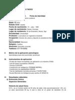 reporte psicologico (Reporte Integral)