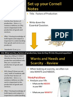 WebNotes - Factors of Production