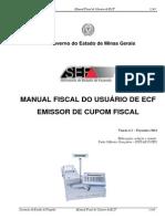 Manual Fiscal Do Usuário de ECF