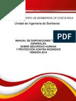 Manual de Disposiciones Tecnicas 2013
