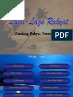 Lagu-Lagu Rakyat Terengganu