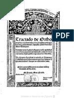 1531 - Tractado de Orthographia y Accentos en Las Tres Lenguas Principales - Alejo Venegas - 1531