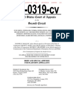2nd Circuit Appellate Brief