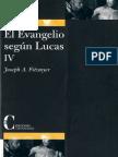 Fitzmyer, Joseph a - El Evangelio Segun Lucas 04