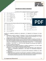 Sesión Funciones Varias Variables