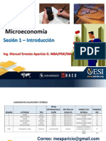 Sesion 1 Introduccion a La Microeconomia