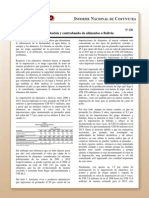 Coy 238 - Importación y Contrabando de Alimentos en Bolivia