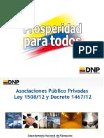 Presentación de Luis Eduardo Niño, Departamento Nacional de Planeación