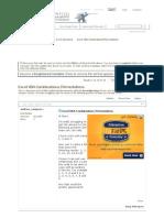 Excel VBA Combinations_Permutations