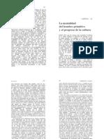 Franz Boas - Cuestiones fundamentales de antropología cultural (capítulo X)