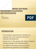 NL-Based Automated Software Requirements Elicitation