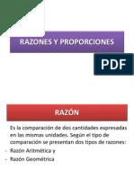 Razon y Proporcion