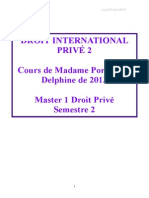 Droit International Privé COMPLET
